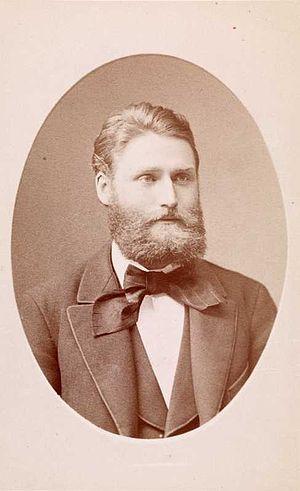 Andreas Aubert (art historian) - Andreas Aubert, c. 1870s