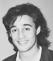 Andrew Ridgeley during the mid 1980s