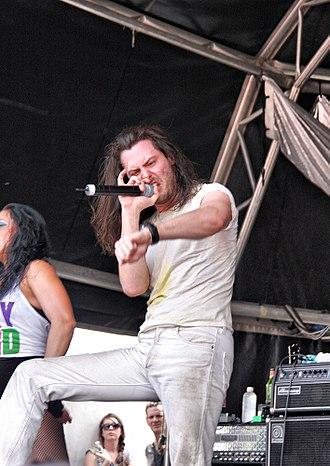 Andrew W.K. - Andrew W.K. performing at Big Day Out 2011