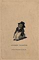 Andrew Whiston, a dwarf. Engraving, 1813. Wellcome V0007300EL.jpg