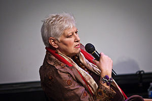 Anne Beatts - Anne Beatts at Vancouver Film School in 2010.