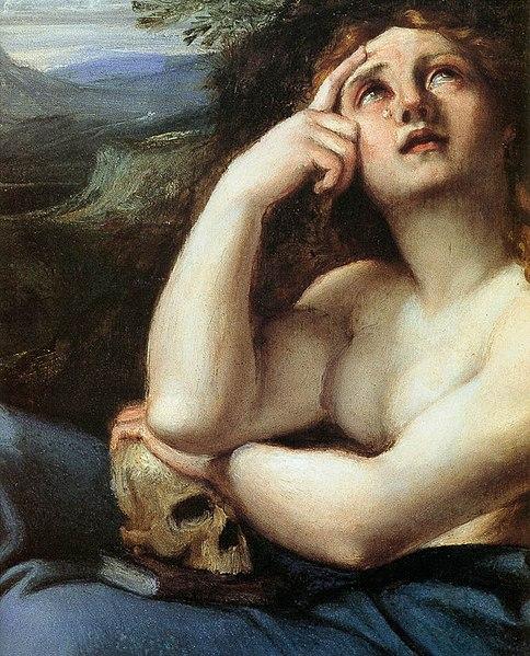 File:Annibale Carracci - The Penitent Magdalen in a Landscape (detail) - WGA04421.jpg