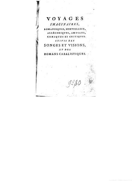 File:Anonyme ou Collectif - Voyages imaginaires, songes, visions et romans cabalistiques, tome 18.djvu