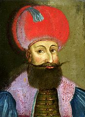 Portrait of Sultan Mehmed III (1595-1603).