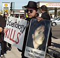 Anonymous protests Scientology in Phoenix on February 10th 16.jpg