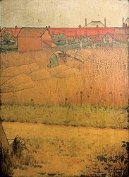 Louis Anquetin: Mower at Noon