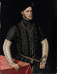 Portrait of Philip II of Spain