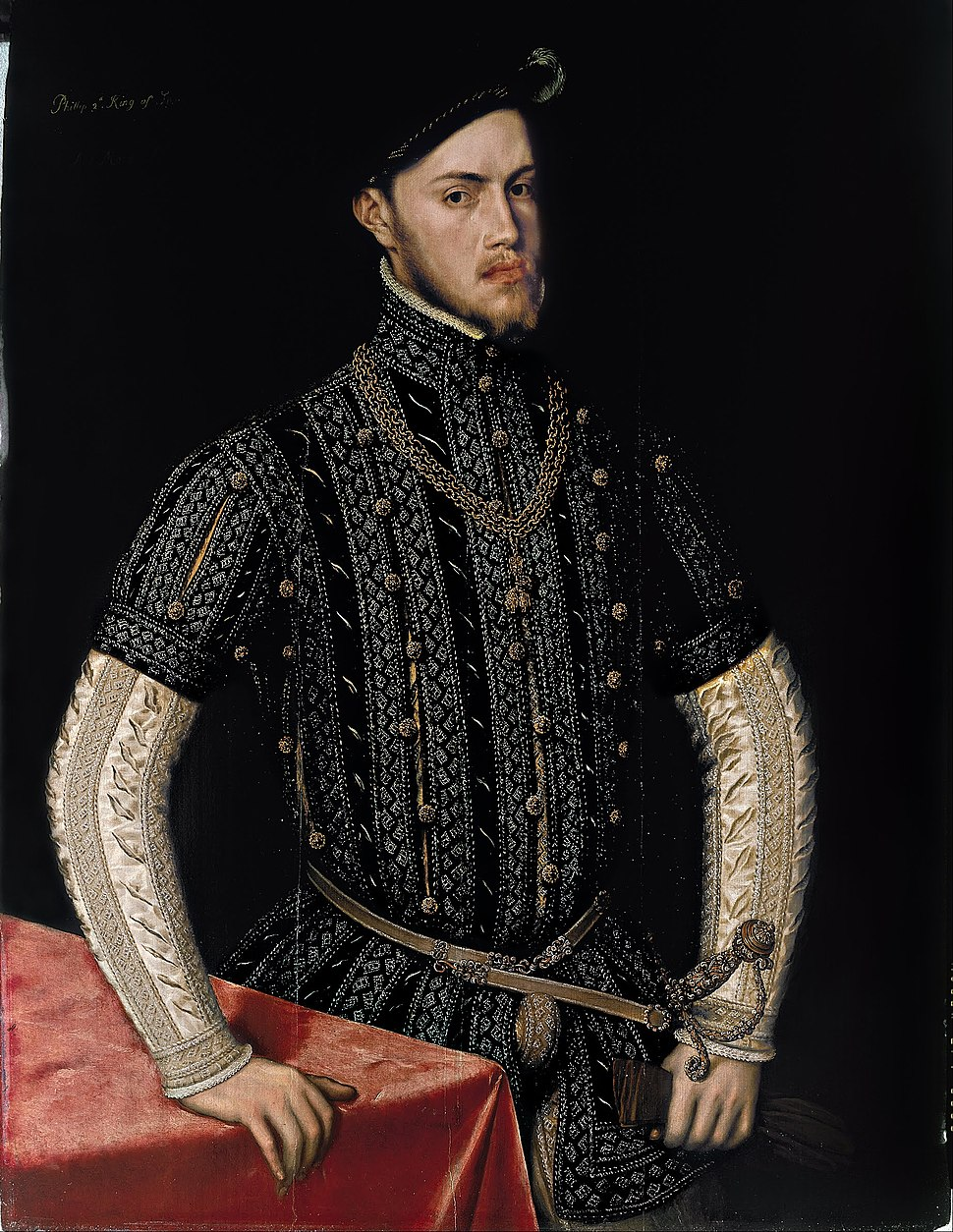 Anthonis Mor - Portrait of Philip II - Google Art Project