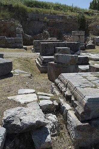 Antioch of Pisidia - Antioch of Pisidia West Gate
