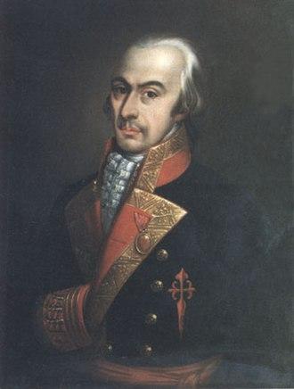 José Antonio Pareja - Image: Antonio Pareja y Serrano de León (Museo Naval de Madrid)