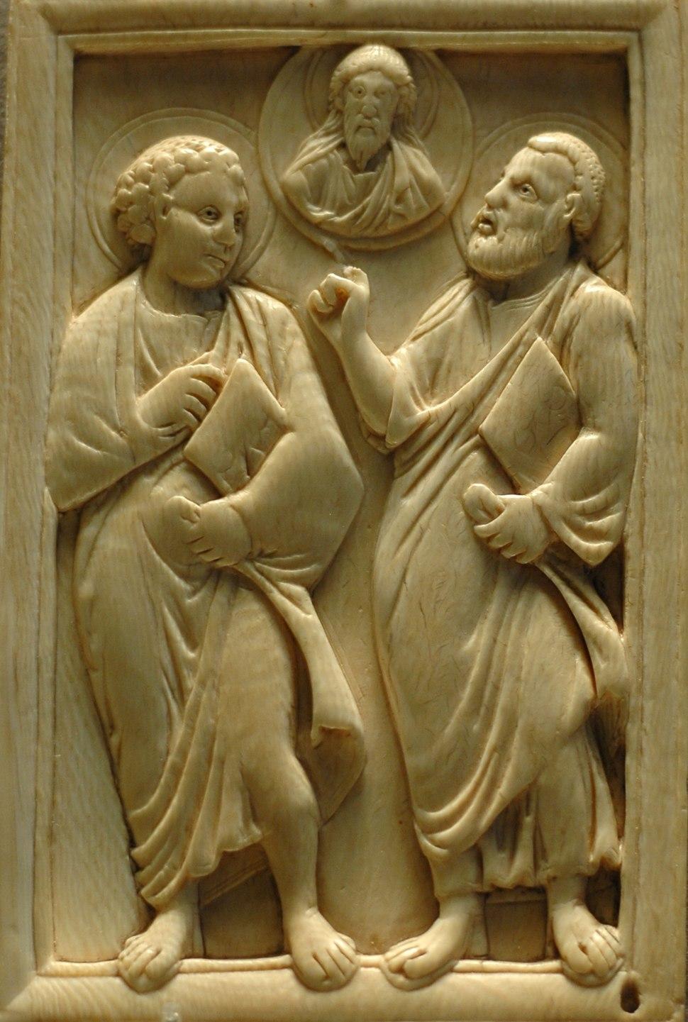 Apostles Christ ivory Louvre OA3850