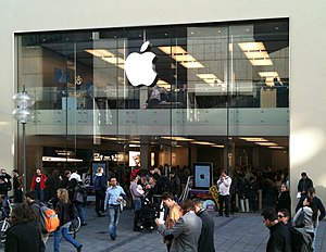 Apple Store in Munich