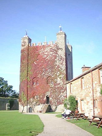 Appleby Castle - The 12th-century Caesar's Tower