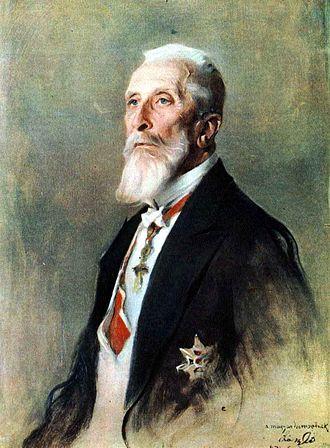 Albert Apponyi - Portrait by Philip de László