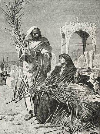Leopold Müller (painter) - Image: Arab Cemetery (1878) TIMEA