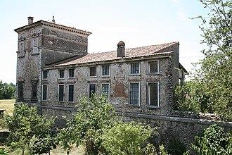 Villa Trissino (Meledo di Sarego) - Rear view