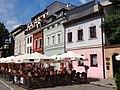 Architectural Detail in Central Plaza of Kazimierz - Former Jewish Quarter - Krakow - Poland - 02 (9195814630).jpg