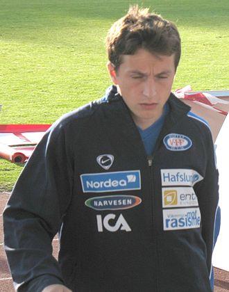 Ardian Gashi - Gashi with Vålerenga in 2006