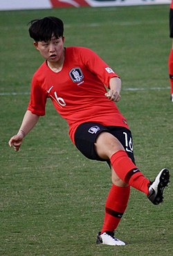Argentina vs Korea Republic, 2019 Cup of Nations, 2019-02-28 Lee So-Dam (48781495922) (cropped).jpg