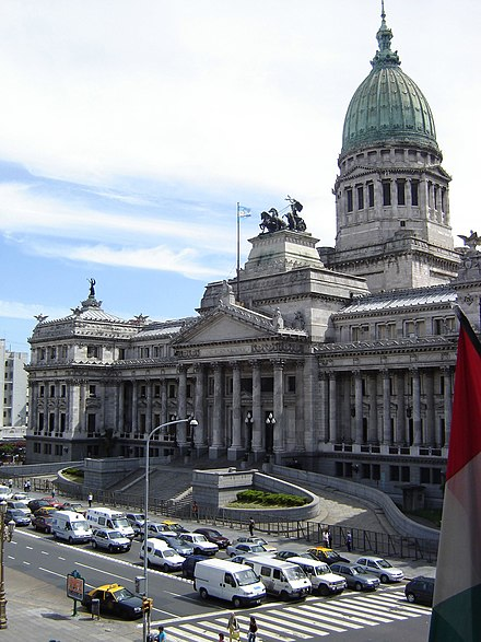 The Palace of the National Congress of Argentina. Argentine National Congress.JPG