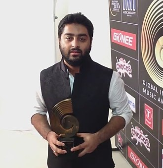 Arijit Singh - Arijit Singh at GiMA Awards 2015