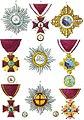 Aristide Michel Perrot - Collection historique des ordres de chevalerie civils et militaires (1820) pl. XXX.jpg