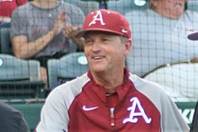 Arkansas Baseball Fall 2018, Dave Van Horn.jpg