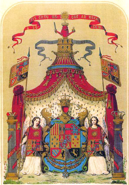 Ficheiro:Armas completas de la Monarquia.jpg