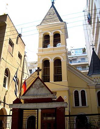 Religion in Greece - Armenian Church of Virgin Mary in Thessaloniki.