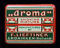 Aroma smoking mixture by F Lieftinck, blikje, foto3.JPG
