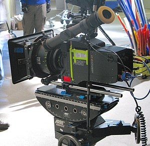 Digital movie camera - The digital movie camera Arriflex D-21 by Arri.