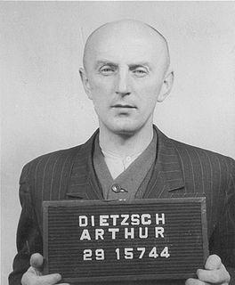 Arthur Dietzsch German concentration camp survivor