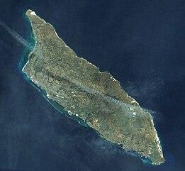 Geography Of Aruba Wikipedia - Aruba physical map