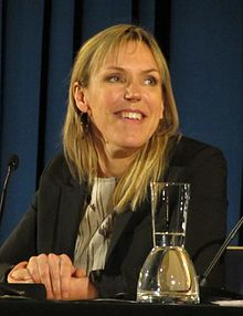 Åsa Larsson at the 2013 literary festival in Cologne