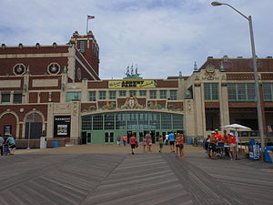 Asbury Park Convention Hall - Image: Asbury Park Paramount Theater