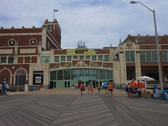 Asbury Park Convention Hall - Image: Asbury Park Paramount Theater