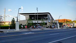 Ascend Amphitheater - Image: Ascend Amphitheater on August 1, 2015