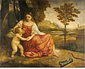 Ascribed to Titian - Venus and Cupid, c.1510 - c.1515.jpg