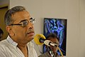 Ashim Kumar Banerjee Addressing - Biswatosh Sengupta Solo Exhibition Inauguration - Kolkata 2015-07-28 3201.JPG