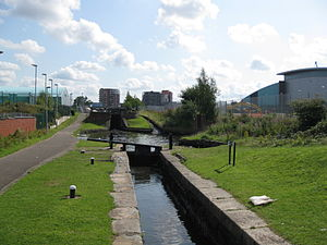 Ashton Canal - Image: Ashtoncanal 9