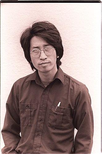 American Knees - Writer Shawn Hsu Wong, 1975. Photo by Nancy Wong.