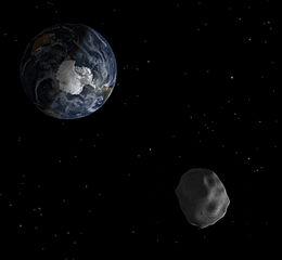 Diagram of asteroid 2012 DA14