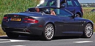Aston Martin DB9 - Aston Martin DB9 Volante (The Netherlands; pre-facelift)