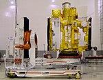 Astrosat-1 prelaunch preparation in cleanroom 02.jpg
