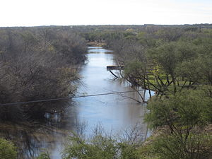 Cotulla, Texas - The Nueces River