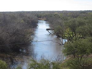 Cotulla, Texas - The Nueces River
