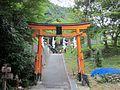 Atago-jinja (Kyoto city) kiyotakitorii.JPG