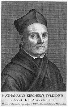 Pater Athanasius Kircher (vor 1664) (Quelle: Wikimedia)