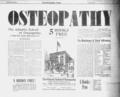 Atlantic School of Osteopathy advertisement in Wilkes-Barre Pennsylvania PA from Wilkes-Barre Times (Wilkes-Barre, Pennsylvania) 25 Aug 1900, Sat Page 7.png