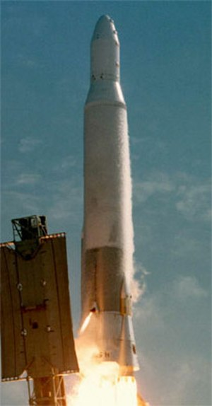 Atlas H - Launch of the last Atlas H with NOSS-9.